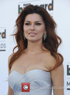 Shania Twain - 2013 Billboard Music Awards at the MGM Grand Garden Arena - Arrivals - Las Vegas, Nevada, United...