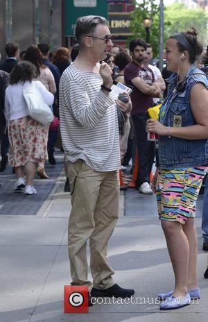 Times Square, Alan Cumming