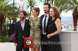 Tim Blake Nelson, Ahna O'reilly, James Franco and Beth Grant