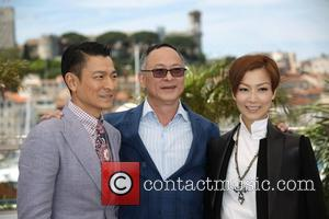Johnnie To and Andy Lau