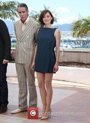 Marion Cotillard and Mark Mahoney