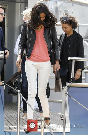 Liya Kebede - Liya Kebede leaves Roberto Cavalli's boat during the 66th Cannes Film Festival - Cannes, France - Monday...