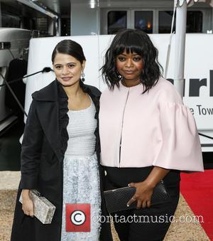 Melonie Diaz and Octavia Spencer