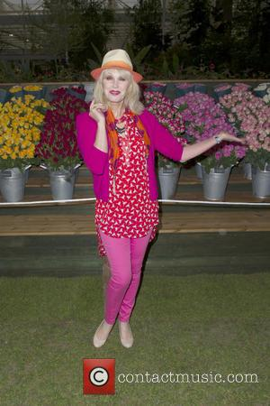 Joanna Lumley - RHS Chelsea Flower Show 2013 - VIP and press preview day - London, United Kingdom - Monday...