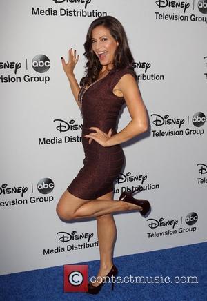 Constance Marie - Disney Media Networks International Upfronts held at The Walt Disney Studios Lot - Arrivals - Burbank, California,...