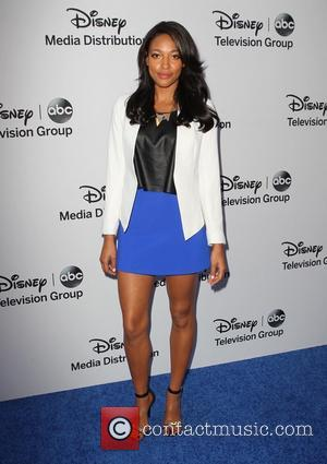 Kylie Bunbury - Disney Media Networks International Upfronts held at The Walt Disney Studios Lot - Arrivals - Burbank, California,...