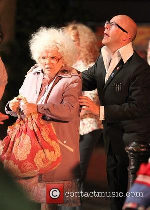 Harry Hill and Julie Walters