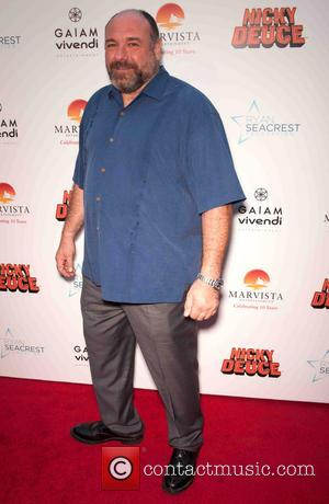 James Gandolfini - The Los Angeles premiere of 'Nicky Deuce' - Arrivals - Los Angeles, California, United States - Monday...