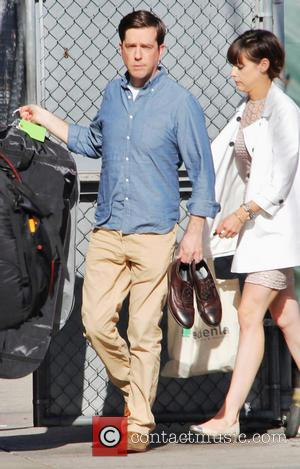 Ed Helms - Celebrities outside ABC's 'Jimmy Kimmel Live!' studios - Hollywood, California, United States - Monday 20th May 2013