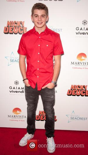 Jack Griffo - The Los Angeles premiere of 'Nicky Deuce' - Arrivals - Los Angeles, California, United States - Monday...