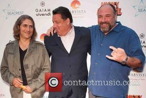 Michael Imperioli, Steve Schirripa and James Gandolfini - The Los Angeles premiere of 'Nicky Deuce' - Arrivals - Los Angeles,...