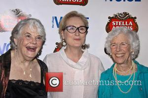Louis Smith, Meryl Streep and Frances Sternhagen