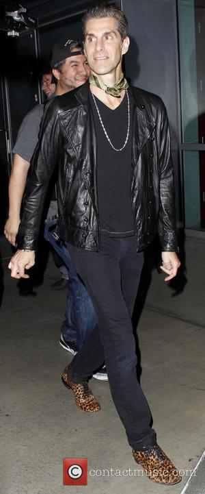 Perry Farrell - Celebrities arrive at the Staples Center to watch the Rolling Stones in concert - Los Angeles, California,...