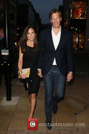 Pippa Middleton and Nico Jackson - Mr Fogg's launch party - Arrivals - London, United Kingdom - Tuesday 21st May...