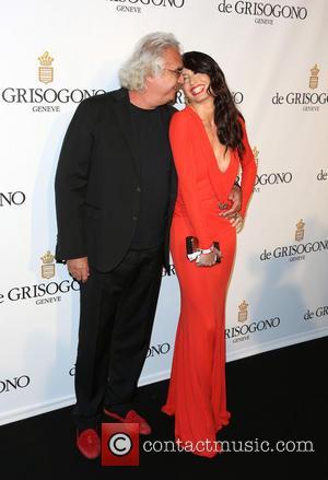 Flavio Briatore and Elisabetta Gregoraci