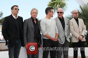 Richard Lagravenese, Michael Douglas, Matt Damon, Jerry Weintraub and Steven Soderbergh