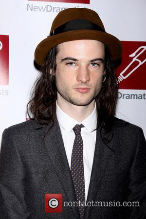 Tom Sturridge - New Dramatists Spring Luncheon held at the Marriott Marquis Hotel - New York, NY, United States -...