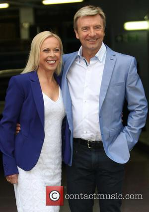 Jayne Torvill and Christopher Dean - Celebrities outside the ITV Studios - London, United Kingdom - Tuesday 21st May 2013