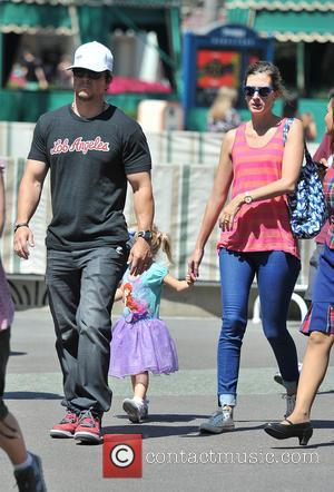 Mark Wahlberg, Rhea Durham and Grace Margaret Wahlberg