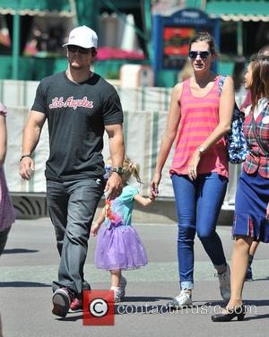 Mark Wahlberg - Mark Wahlberg and his wife take their...