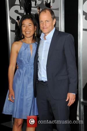 Laura Louie and Woody Harrelson - New York Premiere of 'Now You See me' - Arrivals - New York City,...