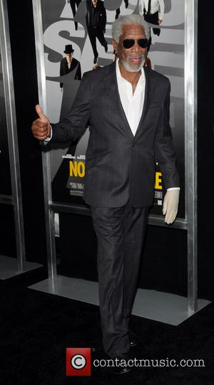 Morgan Freeman - New York Premiere of 'Now You See me' - Arrivals - New York City, NY, United States...