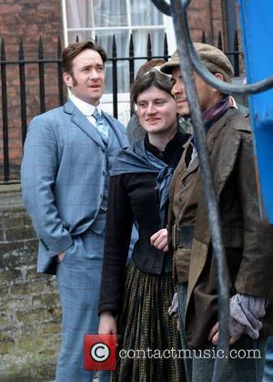 Matthew McFadyen - BBC's Ripper Street Films in Dublin - Dublin, Ireland - Tuesday 21st May 2013