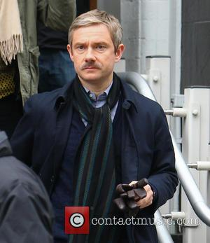 Martin Freeman - Sherlock is a British television crime drama. It stars Benedict Cumberbatch as Sherlock Holmes and Martin Freeman...