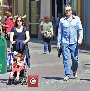 Vince Vaughn, Kyla Weber and Lockly Vaughn