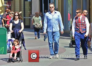Vince Vaughn, Lockly Vaughn and Kyla Weber
