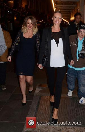 Kimberley Walsh and Denise Van Outen