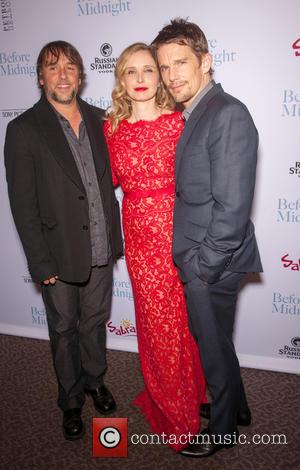 Richard Linklater, Julie Delpy and Ethan Hawke - Los Angeles premiere of 'Before Midnight' held at DGA Theater - Hollywood,...