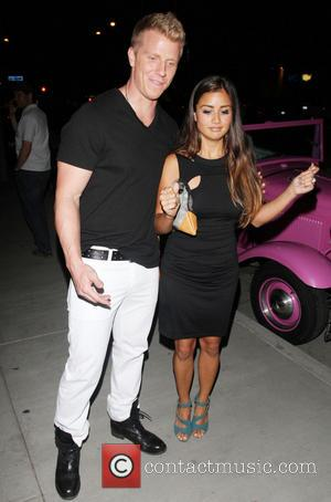 Sean Lowe and Catherine Giudici - 'Dancing With the Stars' after party at SUR Nightclub in Hollywood - Hollywood, California,...