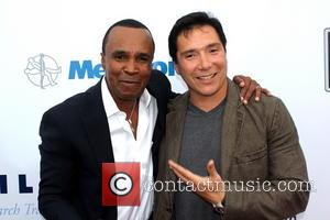Sugar Ray Leonard and Benito Martinez