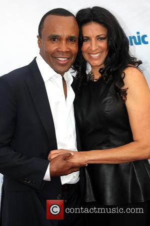 Sugar Ray Leonard and Franchesca Robi