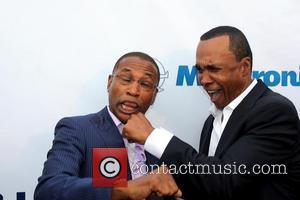 Tommy Davidson and Sugar Ray Leonard