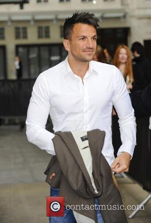 Peter Andre - Peter Andre seen leaving the BBC Studios - London, United Kingdom - Wednesday 22nd May 2013
