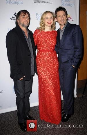 Richard Linklater, Julie Delpy and Ethan Hawke - Los Angeles premiere of 'Before Midnight' held at DGA Theater - Arrivals...