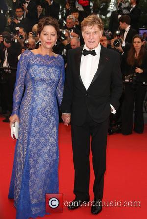 Robert Redford and Sibylle Szaggars - 66th Cannes Film Festival - All is Lost - premiere - Cannes, France -...