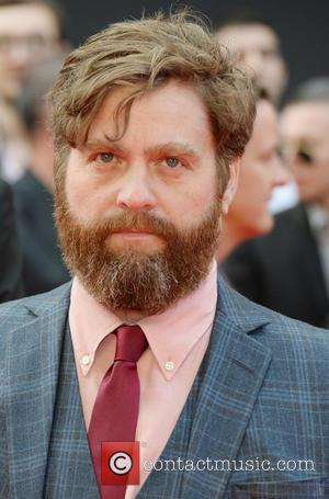Zach Galifianakis - 'The Hangover Part III' - European film premiere held at the Empire Leicester Square - Arrivals -...
