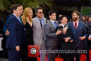 Zach Galifianakis, Justin Bartha, Ed Helms, Heather Graham, Bradley Cooper, Ken Jeong and Todd Phillips