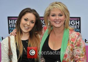 Cheryl Baker and Natalie Baker - Lorraine High Street Fashion Awards held at Canary Wharf - Arrivals - London, United...