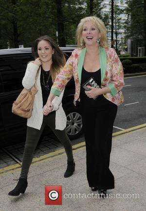 Cheryl Baker and Kyla Baker - Lorraine High Street Fashion Awards held at Canary Wharf - Outside Arrivals - London,...