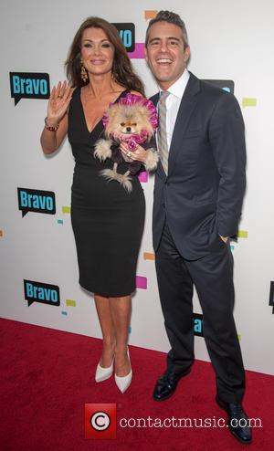 Lisa Vanderpump and Andy Cohen