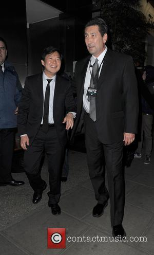 Ken Jeong - Celebrities leaving 'The Hangover 3' Afterparty, held at Roka restaurant - London, United Kingdom - Wednesday 22nd...