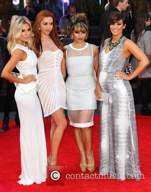 Mollie King, Una Healy, Vanessa White and Frankie Sandford