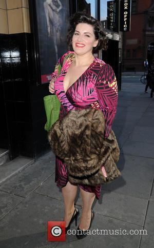 Jodie Prenger - Jodie Prenger arrives at the Palace Theatre Manchester for the 'Dirty Dancing' press night - Manchester, United...