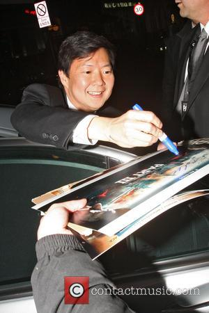 Ken Jeong - Cast of The Hangover Part III dining at Roka restaurant - London, United Kingdom - Wednesday 22nd...