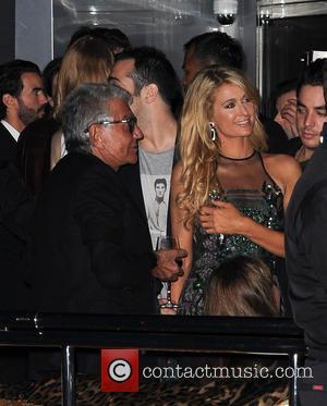 Roberto Cavalli and Paris Hilton