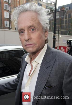 Michael Douglas - Michael Douglas outside Claridge's hotel in London